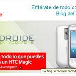 Vodafone Espagne ouvre un blog sur Android