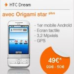 Le htc dream à 50 euros chez Orange