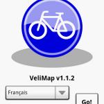 Mise a jour Velimap le vélib sous Android sort enfin de Paris