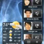 Rosie – Android récupéré sur le HTC Hero montre une impressionante nouvelle interface
