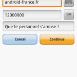 L'application officielle Paypal est disponible pour Android