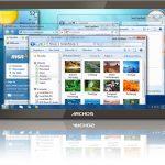 La tablette tactile Archos dévoilée le 11 juin est en fait sous Windows 7