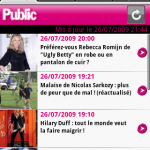 Le magazine Public a son application Android