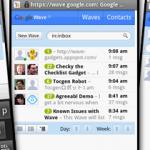 Quelques captures d'écran de la version Android de Google Wave