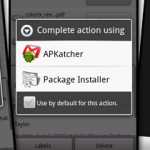 APKatcher – Installez vos applications Android en .apk directement par Email