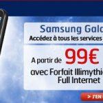 Le Samsung i7500 Galaxy commercialisé par SFR