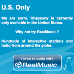 L'application Rhapsody de Realnetwork pour Android est en route