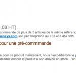 Le Acer A1 sous Android en pré-vente à 389 euros chez Expansys France