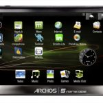 Officiel – La tablette tactile Archos 5 Internet Tablet sous Android