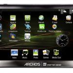 Officiel – La tablette tactile Archos 5 Internet Tablet sous Android