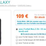 Le Samsung Galaxy i7500 passe à 29 €uro chez Bouygues Télécom