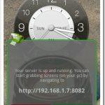 Capture d'écran de votre téléphone avec votre navigateur grâce à Picme