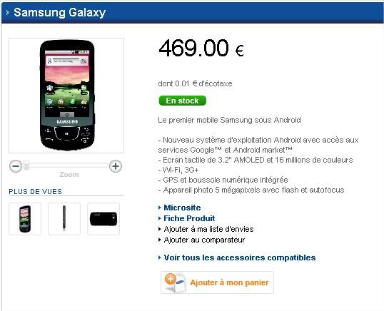 Samsung Mobile Shop - Samsung Galaxy - Mozilla Firefox