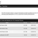Les sources de HTC HERO disponibles