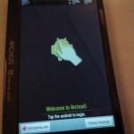 archos internet tablet installer gmail gtalk android market et youtube