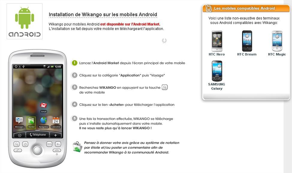 ANDROID - Installez WIKANGO sur les mobiles ANDROID - Mozilla Firefox