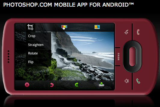 Photoshop.com Mobile Android App - Photo editor, sharing, upload_1257534037252
