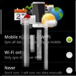 Premières images de Android 2.1 sur un HTC Hero