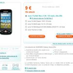 Samsung Spica disponible sur la boutique Bouygues Telecom