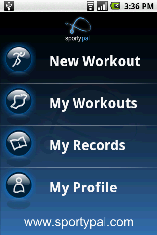 application entrainement sport android