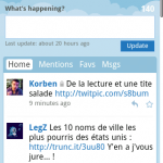 Twitter – La nouvelle version du site mobile est maintenant exploitable