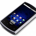 Acer Liquid – La mise à jour vers Android 2.0 Eclair pour 2010