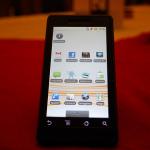 Motorola Milestone – Vendu directement avec Android 2.1 en Espagne