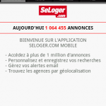 Immobilier Android – SeLoger et Logic-immo disponibles sur Android Market