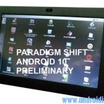 Paradigm Shift  EMT-10AB / W – Tablet tactilce 10 pouces sous Android