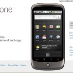 Nexus One-l'annonce officielle par Google