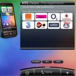 Le HTC Desire En Pre-Enregistrement