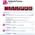 La page Android-France sur Buzz