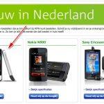 HTC Legend – Première entrée dans un catalogue opérateur