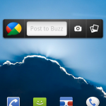 Google Buzz – Le Widget officiel disponible