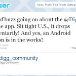 Digg – L'application Android en approche