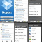 Dropbox – L'application Android en approche