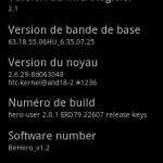 Passez son HTC HERO sous Android 2.1 avec la ROM BeHero v1.2 Legendary edition