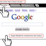 Xscope – Un navigateur internet avec onglets