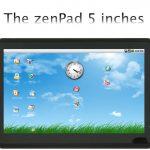 ZenPad – Une gamme de tablettes tactiles 5, 7 et 10 pouces