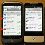 HTC Legend – la mise à jour 1.31.405.4  pour l'accès complet à Android Market