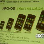 Archos – La prochaine génération comptera 6 tablettes sous Android