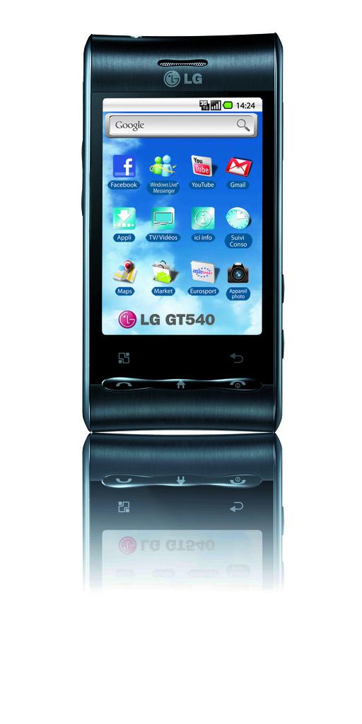 Как Обновить С Версии 1.6 Android До Версии 2.2.1 Lg Gt540 Optimus
