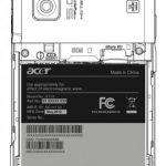 Acer Liquid Stream – Le Acer Liquid 2 révélé par le FCC