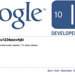 Google TV – Une preuve de l'annonce imminente