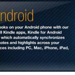 L'application Kindle pour Android arrivera cet été
