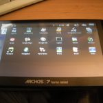 Archos 7 Home Tablet – Installer Android Market et Gmail
