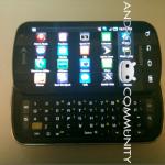 Samsung Galaxy S Pro – Le Galaxy S avec clavier en photos
