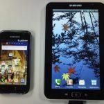 La tablette tactile Samsung 7 pouces en photo