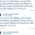 Un Samsung Galaxy S gratuit pour les utilisateurs d'iPhone 4 mécontents
