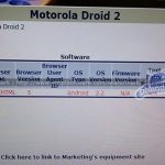 Motorola Droid 2 – Sortira directement sous Android 2.2